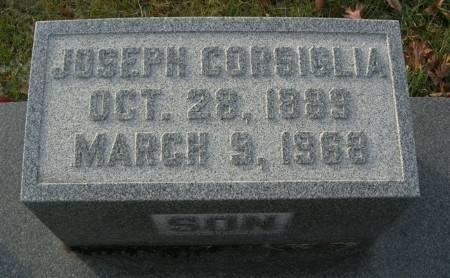 CORSIGLIA, JOSEPH - Scott County, Iowa | JOSEPH CORSIGLIA