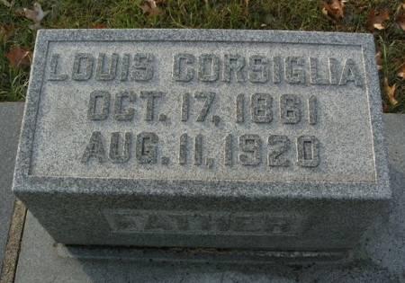 CORSIGLIA, LOUIS - Scott County, Iowa | LOUIS CORSIGLIA