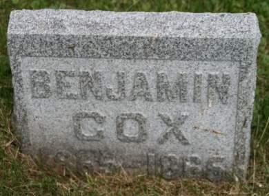 COX, BENJAMIN - Scott County, Iowa   BENJAMIN COX