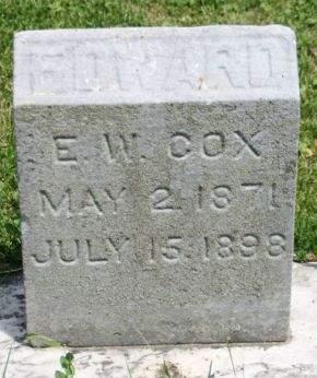 COX, EDWARD W. - Scott County, Iowa | EDWARD W. COX