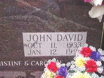 CROSS, JOHN DAVID - Scott County, Iowa   JOHN DAVID CROSS
