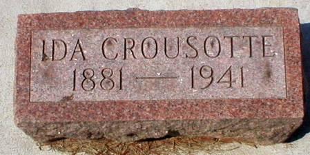 CROUSOTTE, IDA - Scott County, Iowa | IDA CROUSOTTE