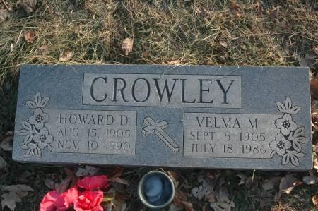 CROWLEY, VELMA M. - Scott County, Iowa | VELMA M. CROWLEY