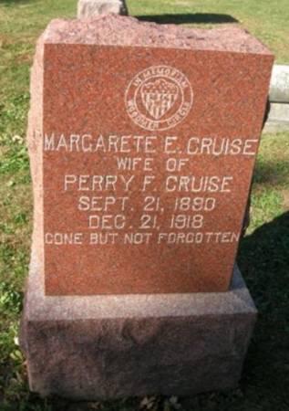 CRUISE, MARGARETE E. - Scott County, Iowa | MARGARETE E. CRUISE