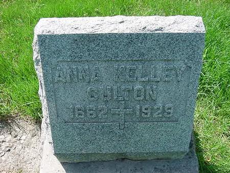 KELLEY CULTON, ANNA - Scott County, Iowa | ANNA KELLEY CULTON