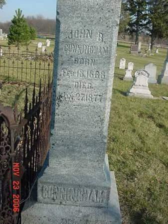 CUNNINGHAM, JOHN R - Scott County, Iowa | JOHN R CUNNINGHAM