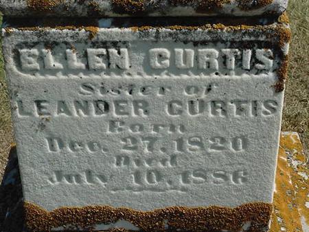 CURTIS, ELLEN - Scott County, Iowa | ELLEN CURTIS