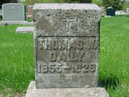 DAILY, THOMAS W - Scott County, Iowa | THOMAS W DAILY