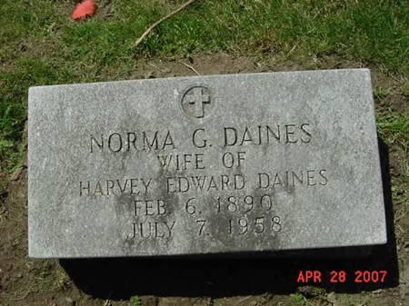 DAINES, NORMA G - Scott County, Iowa | NORMA G DAINES