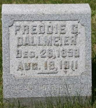 DALLMEIER, FREDDIE G. - Scott County, Iowa | FREDDIE G. DALLMEIER