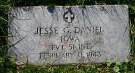 DANIEL, JESSE G. - Scott County, Iowa | JESSE G. DANIEL