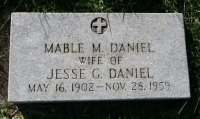 DANIEL, MABLE M. - Scott County, Iowa | MABLE M. DANIEL