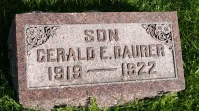 DAURER, GERALD E. - Scott County, Iowa | GERALD E. DAURER