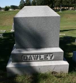DAWLEY, FAMILY MONUMENT - Scott County, Iowa | FAMILY MONUMENT DAWLEY