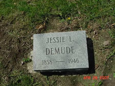 DEMUDE, JESSIE L - Scott County, Iowa | JESSIE L DEMUDE