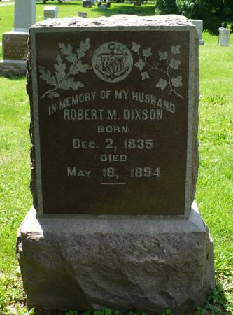 DIXSON, ROBERT M. - Scott County, Iowa | ROBERT M. DIXSON