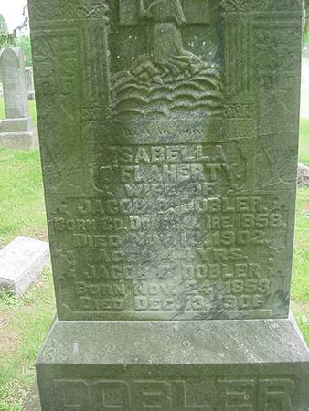 DOBLER, ISABELL - Scott County, Iowa | ISABELL DOBLER
