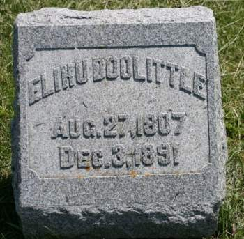 DOOLITTLE, ELIHU - Scott County, Iowa | ELIHU DOOLITTLE