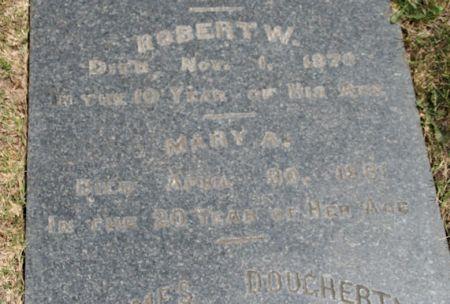 DOUGHERTY, MARY A. - Scott County, Iowa | MARY A. DOUGHERTY