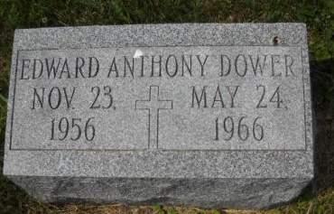 DOWER, EDWARD ANTHONY - Scott County, Iowa   EDWARD ANTHONY DOWER