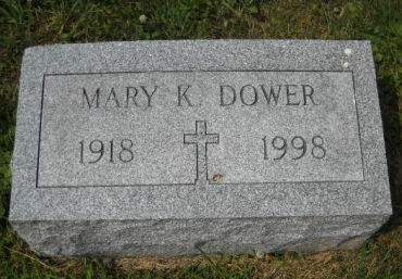 DOWER, MARY  K. - Scott County, Iowa | MARY  K. DOWER