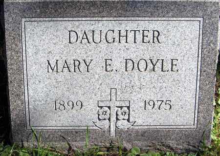 DOYLE, MARY E. - Scott County, Iowa | MARY E. DOYLE