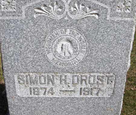 DROST, SIMON H. - Scott County, Iowa | SIMON H. DROST