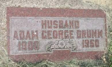 DRUMM, ADAM GEORGE - Scott County, Iowa | ADAM GEORGE DRUMM