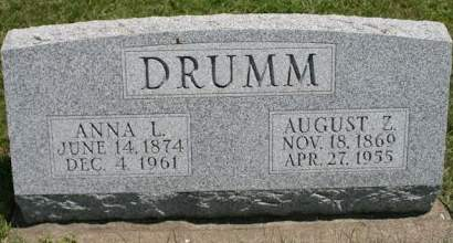 DRUMM, AUGUST Z. - Scott County, Iowa | AUGUST Z. DRUMM