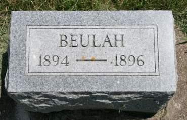 DRUMM, BEULAH - Scott County, Iowa | BEULAH DRUMM