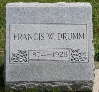 DRUMM, FRANCIS W. - Scott County, Iowa | FRANCIS W. DRUMM