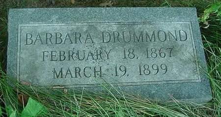 DRUMMOND, BARBARA - Scott County, Iowa   BARBARA DRUMMOND