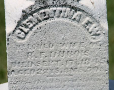 DUBOIS, CLEMENTINA E.W. - Scott County, Iowa | CLEMENTINA E.W. DUBOIS