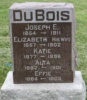 DUBOIS, ELIZABETH - Scott County, Iowa | ELIZABETH DUBOIS