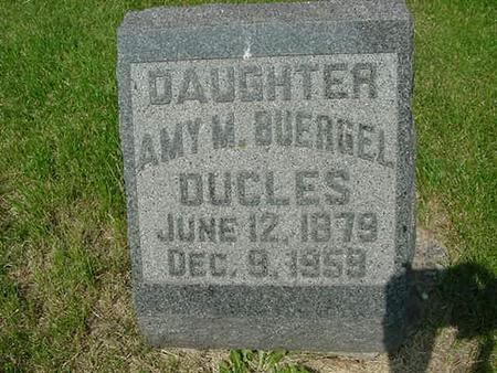 DUCLES, AMY M - Scott County, Iowa   AMY M DUCLES