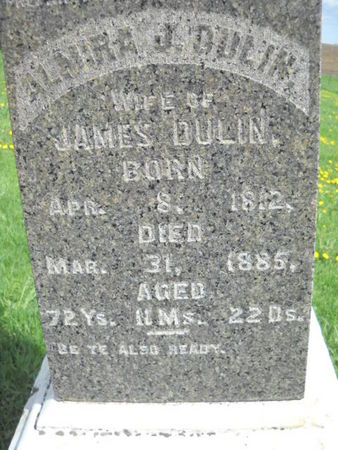 DANFORTH DULIN, ALMIRA  J - Scott County, Iowa | ALMIRA  J DANFORTH DULIN