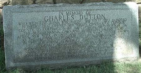 DUTTON, CHARLES - Scott County, Iowa   CHARLES DUTTON
