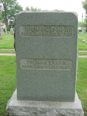 EAGAN, THOMAS - Scott County, Iowa | THOMAS EAGAN
