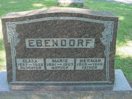 EBENDORF, MARIE - Scott County, Iowa | MARIE EBENDORF