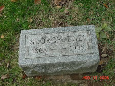 EGEL, GEORGE - Scott County, Iowa | GEORGE EGEL
