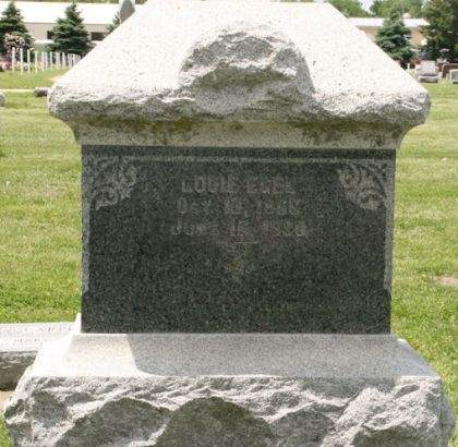 EGEL, LOUIE - Scott County, Iowa | LOUIE EGEL