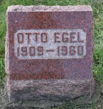 EGEL, OTTO - Scott County, Iowa | OTTO EGEL