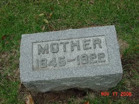 EGGER, MOTHER - Scott County, Iowa | MOTHER EGGER