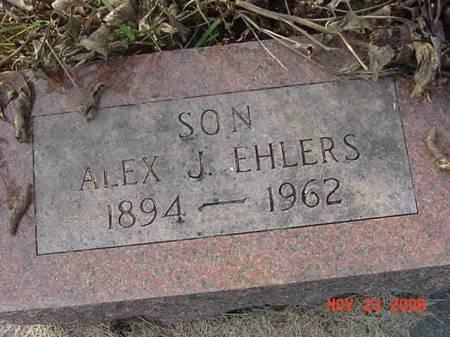 EHLERS, ALEX J - Scott County, Iowa | ALEX J EHLERS
