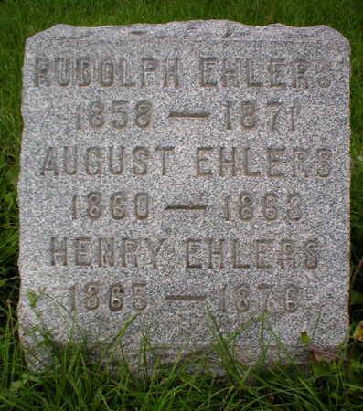 EHLERS, RUDOLPH - Scott County, Iowa | RUDOLPH EHLERS