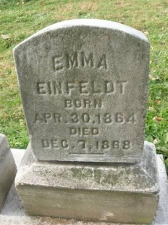 EINFELDT, EMMA - Scott County, Iowa | EMMA EINFELDT