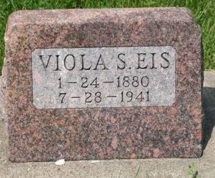 EIS, VIOLA S. - Scott County, Iowa | VIOLA S. EIS