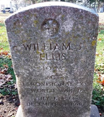 ELLIS, WILLIAM - Scott County, Iowa   WILLIAM ELLIS