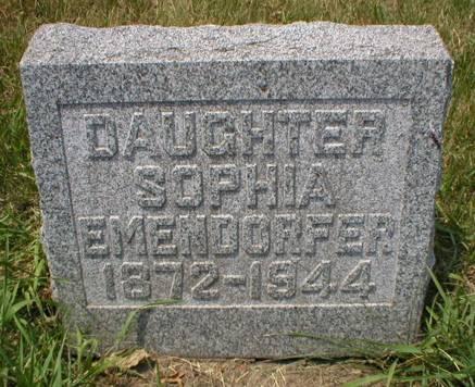 EMENDORFER, SOPHIA - Scott County, Iowa | SOPHIA EMENDORFER