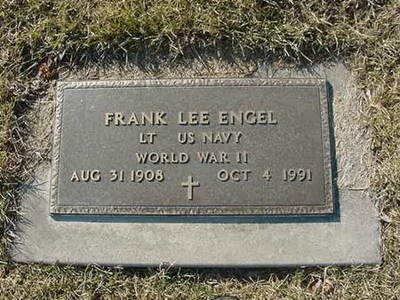 ENGEL, FRANK LEE - Scott County, Iowa | FRANK LEE ENGEL